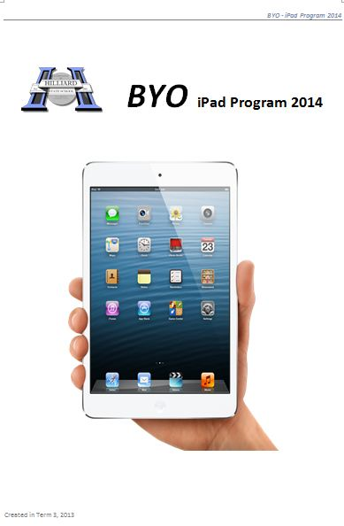 BYO iPad classes 2014 REGISTER YOUR INTEREST